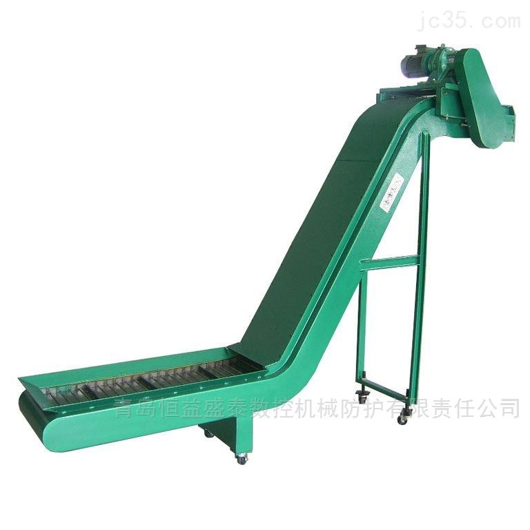 龙门铣床专用排屑机青岛厂家恒益盛泰
