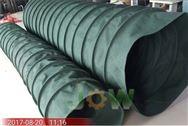 粉塵顆粒耐溫帆布通風除塵軟連接規格