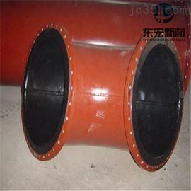 80~用钢衬橡胶复合管  矿山用耐腐蚀衬胶管道