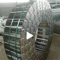 规格齐全封闭式电缆防护穿线钢铝拖链