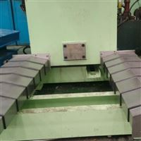订制数控机床伸缩钢板防护罩