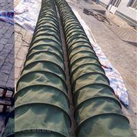 耐腐蚀钢带式帆布通风伸缩软连接