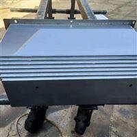 订制机床钣金伸缩导轨钢板防护罩
