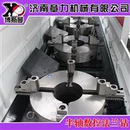 高速四工位数控钻铣床汽车半轴齿轮轴加工