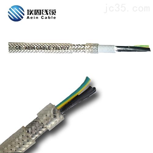 透明护套变频电缆4G120支持定做