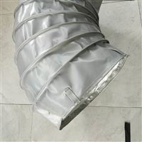 山西灰色硅胶布高温通风口软连接厂家