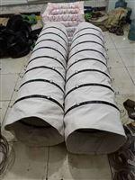 振动筛输送帆布软连接头