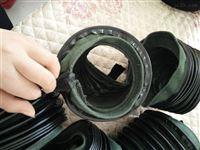 液压试验机圆形活塞杆保护套