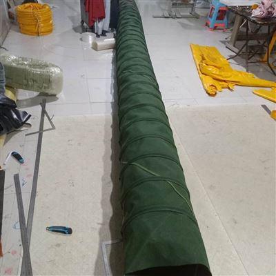 厂家生产散装机罐车下料口伸缩布袋