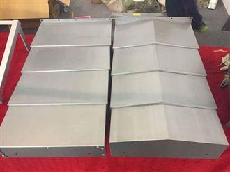 厂家供应导轨式机床钢板防护罩