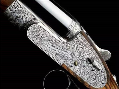 数控188bet与手工精雕艺术在猎枪上的极致演绎