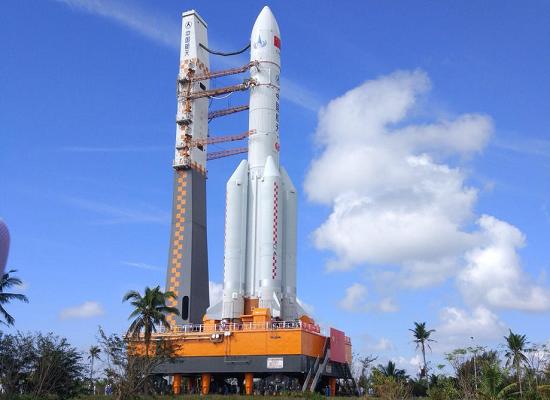 """厉害了!""""胖五""""再出征!这回将托起我国最大人造卫星"""