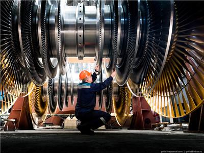 俄罗斯在圣彼得堡的汽轮机工厂