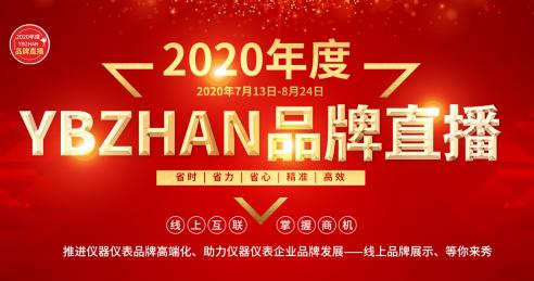 2020年度ybzhan品牌直播