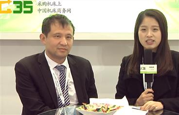 188bet商务网于CME188bet展上采访东莞巨高精机