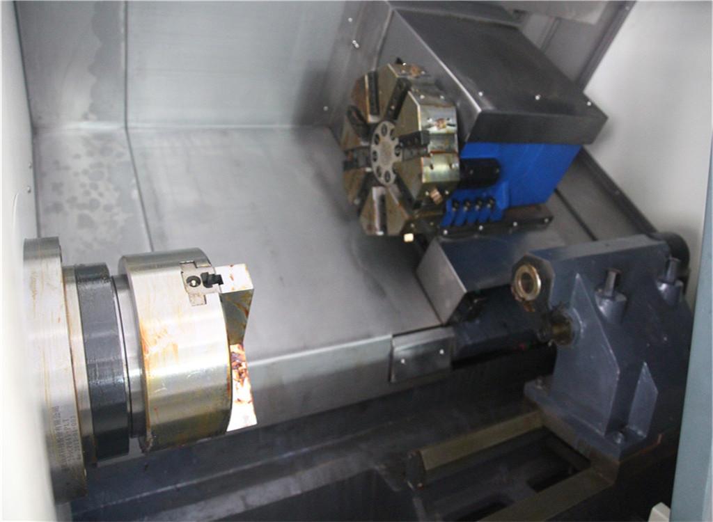 tck500厂专业设计高配置经济型斜床身线轨数控车床tck500