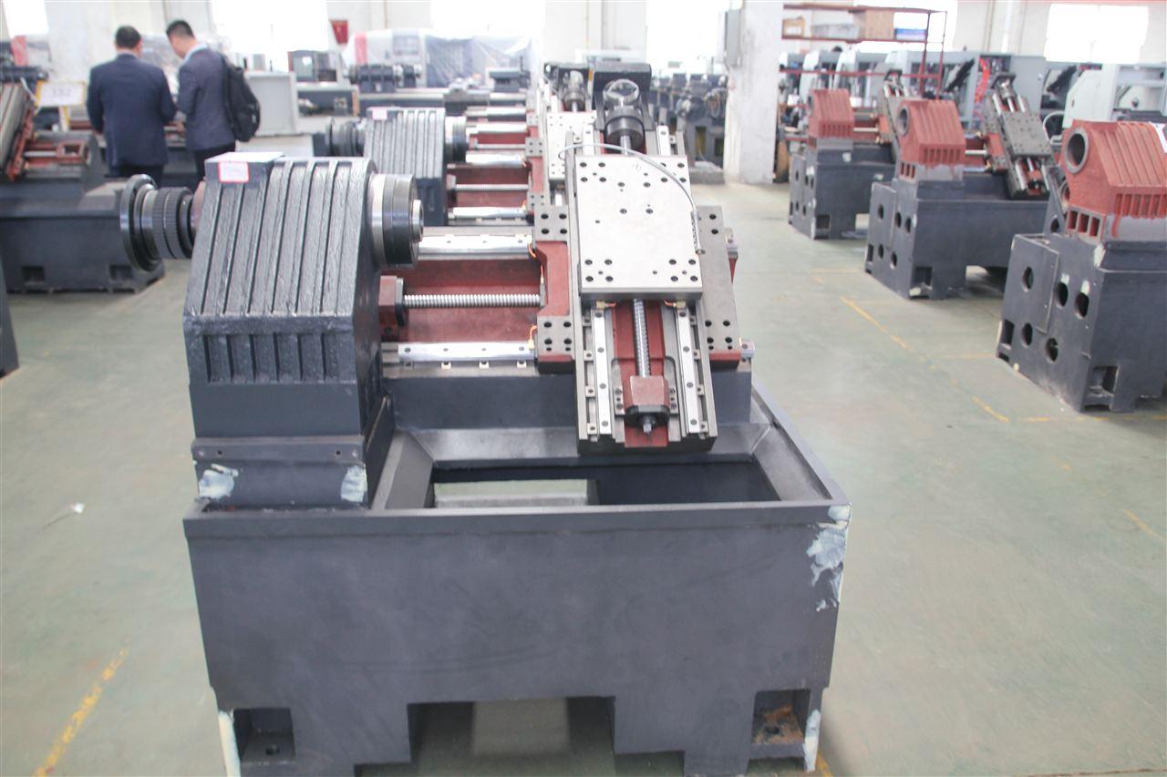 斜床身数控车床tck6350车铣复合数控机床 一, 机床主要结构特点