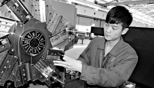 机床资讯 90后数控车工为火箭打造零件