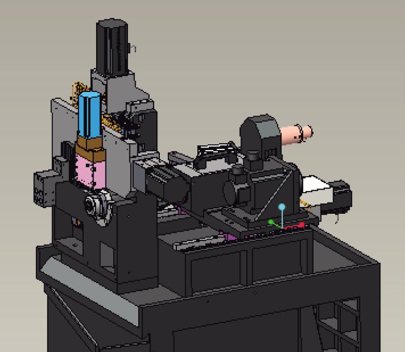 CK1113自动车床三轴均采用直线滚动导轨,由绝对值伺服电机驱动,直线式排刀结构具有快速换刀的特点,数控系统功能完善,操控简易。根据零件加工需要,可选配侧面动力头,实现钻孔、铣削复合加工。配备自动送料机,可实现自动化生产。 CK1113自动车床详细结构优势介绍: