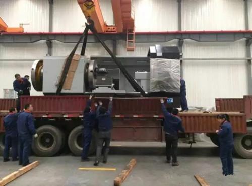 沂水机床 QK1363数控管子螺纹车床圆满完成