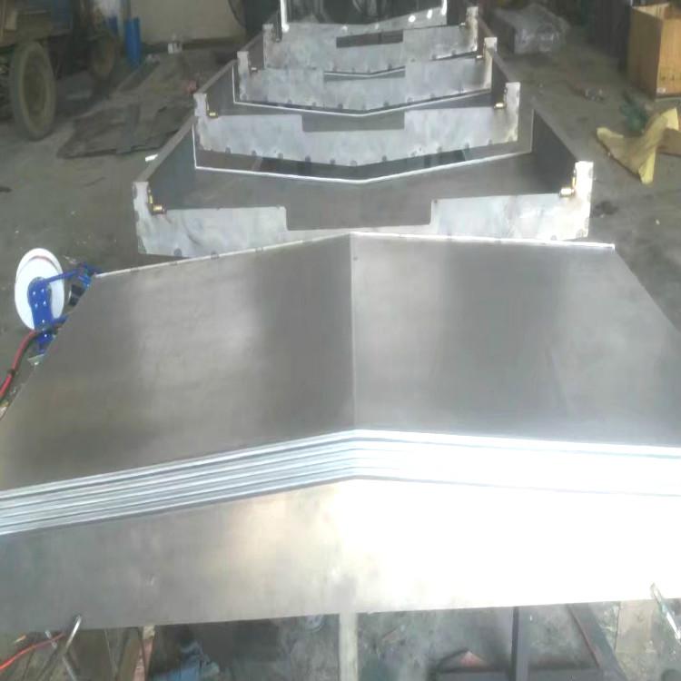 专业生产汉川镗铣床导轨防护罩