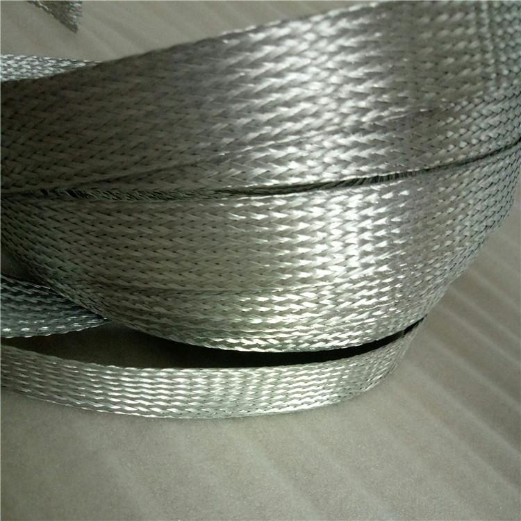 lmy-lmy铝丝编织导电带 硅碳棒连接铝编织带