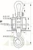 OCS-10吨高精度耐高温电子吊秤OCS-10吨隔热电子吊秤